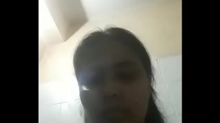 Bengali housewife masterbate at bathroom for you