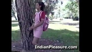 Hot Desi Teen out door sex with devar