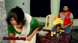 Hot House maid trying to seduce the house owner Secretly